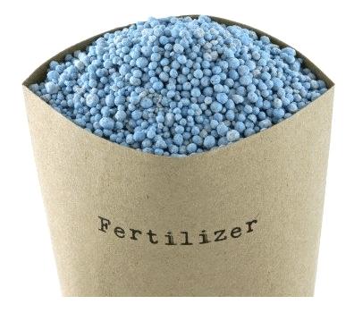 Figura 1 - Exemplo de fertilizante nitrogenado.  Fonte: adaptado de Cellcode.