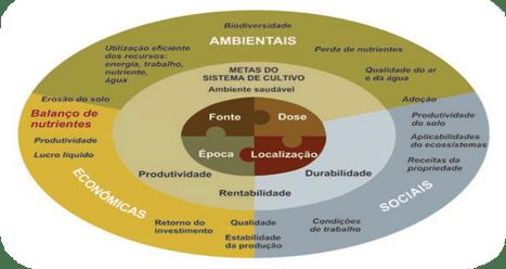 Figura 3: Gestão de nutrientes 4C. Disponível em: https://maissoja.com.br/fertilizantes-como-utilizar-corretamente/